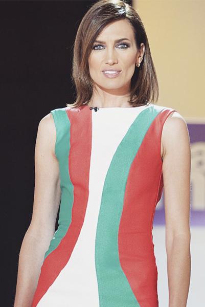 Nieves Álvarez, programa Flash Moda