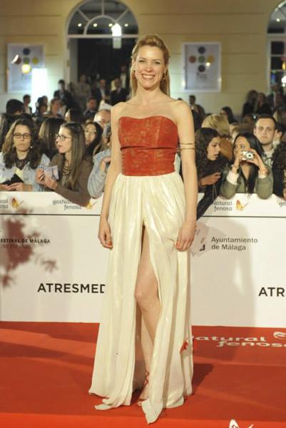 Maggie Civantos, Festival de Cine de Málaga