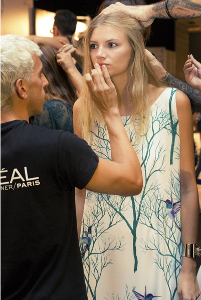 backstage-kaizen-esther-noriega-mercedes-benz-fashion-week-madrid loreal 3