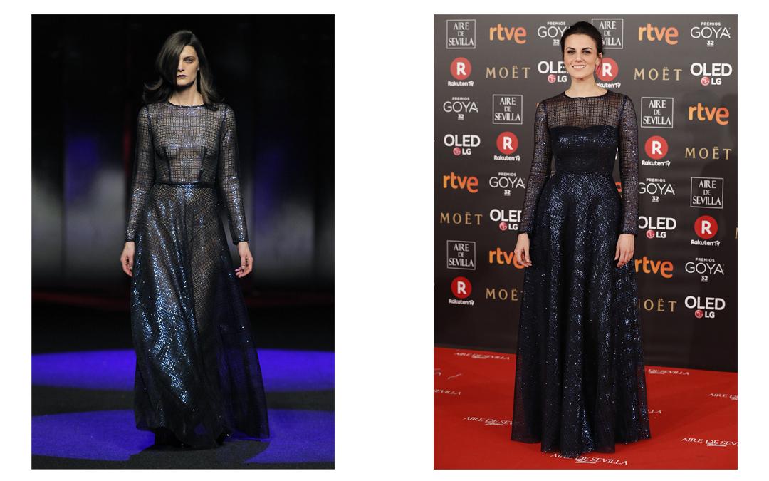 dd9bfeeae550d Melina se enamoró de este vestido de la colección VOYAGE 360